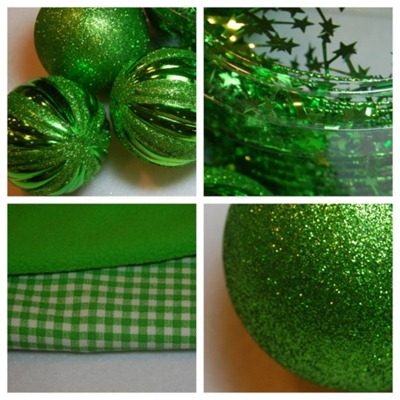Christmas Mantel Color Inspiration