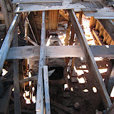 The floor did not seem up to code.  It seems that much of the mill's metal items have been stripped for scrap metal.