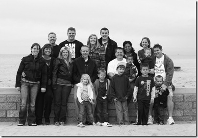 Family Photo 005 Black and White Edit