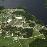 Camporee from airplane