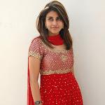 Kausha  in Red Churidar  Cute Photos