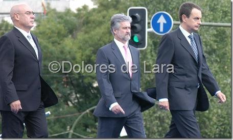 Zapatero en el Día de las Fuerzas Armadas