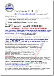 CORSO PE R MONOVRIERE - personale a terra   SCORZE' _Ve_ Maggio 2011_01