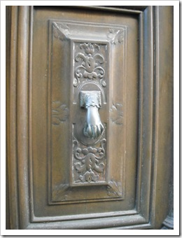 Door knocker in Agde