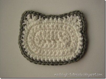 You'll need to make one for each Hello Kitty Granny Square in your