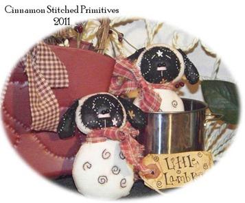 PATTIS RATTIES little lambkins 4-6-11