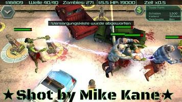 Screenshot of Zombie Defense