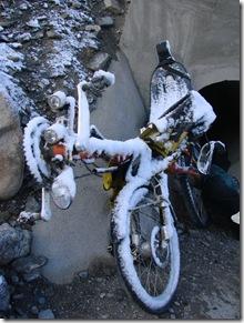 recumbent snow