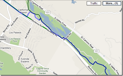 Wall's Blog: Bicycle routing now in Google Maps on