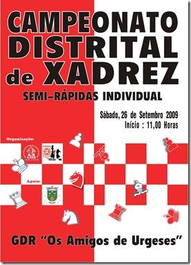 Cartaz Distrital Semi-Rápidas 2008/2009