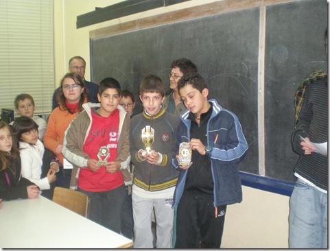 3º torneio Vila Pouca dos Pequeninos - podio sub-12
