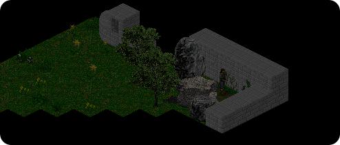 Entrada para a caverna do ladrão.