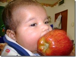 070317 Parece que traigo una manzana en cada cachete pero no
