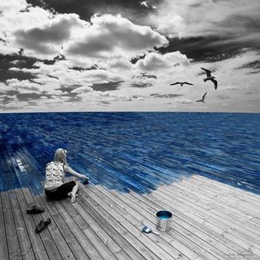 mi mundo se pinto de azul