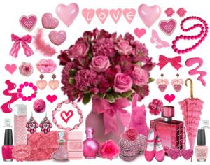 bebe niña rosa