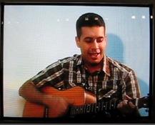 Eduardo Meraz cantando Fiel