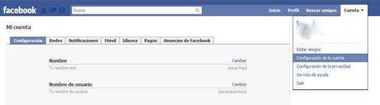 Conexion segura en Facebook