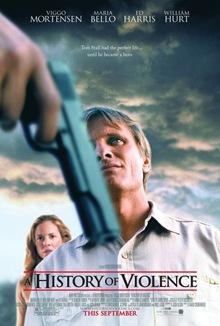 Poster Una historia de violencia