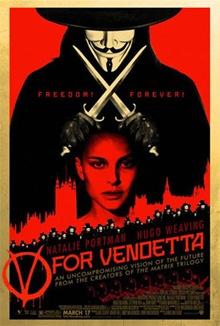 Poster V de Vendetta