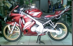 Vixion Modification 12