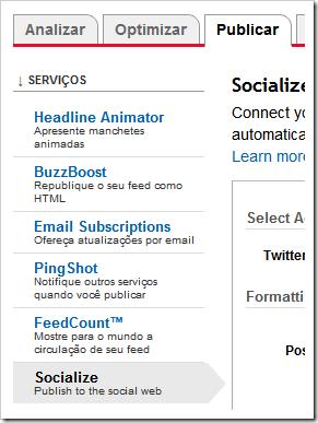 Publicar » Socialize