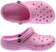 Clog rosa de PVC