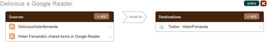 Delicious e Google Reader