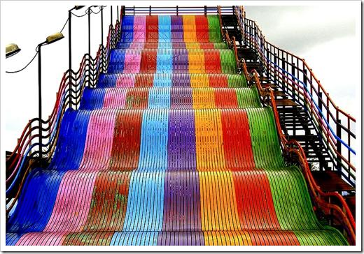Tobogã colorido