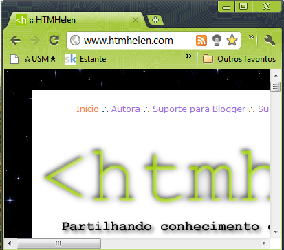 HTMHelen no Chrome