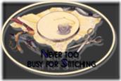 Debbie's button stitching