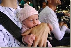 09-24-09 Linnea at Yankees Game, etc 025