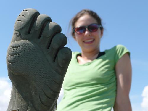 Five Fingers - A luva dos pés Fivefingers