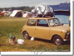 Campingferie Langeland 1974