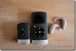 Telefonclips, fjernbetjening og høreaparater