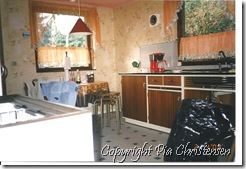 Køkken efter oprydning