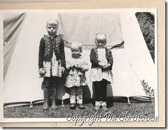 Camping i Kalø 1962
