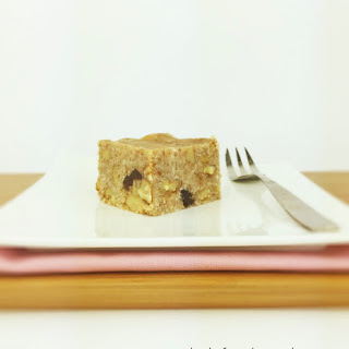 No Bake Banana, Date and Walnut Cake