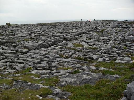 Paisaje kárstico superficial (The Burrens, Irlanda)