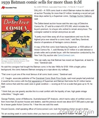 Batman #1 sells for over $1m