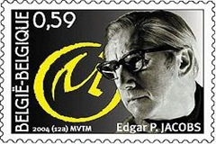 EdgarJacobs Stamp