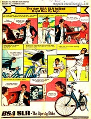 Kapil Dev in Comics Ad