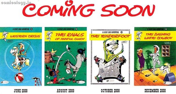 Lucky Luke Future Titles