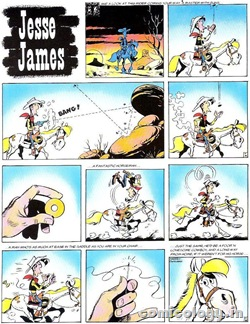 Lucky Luke - Jesse James - 01