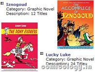 Euro Book's Coming Soon - Iznogoud & Lucky Luke
