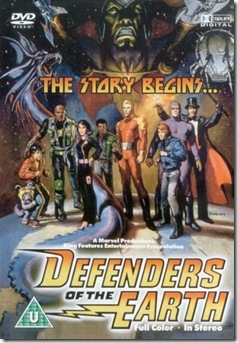 Defenders of the Earth (1986-87) Animated Series