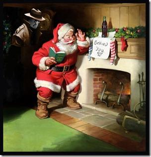 Santa gets a Visitor