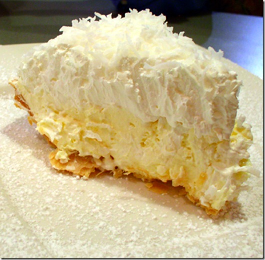 Jan CAN Cook: Lawry's Coconut Banana Cream Pie