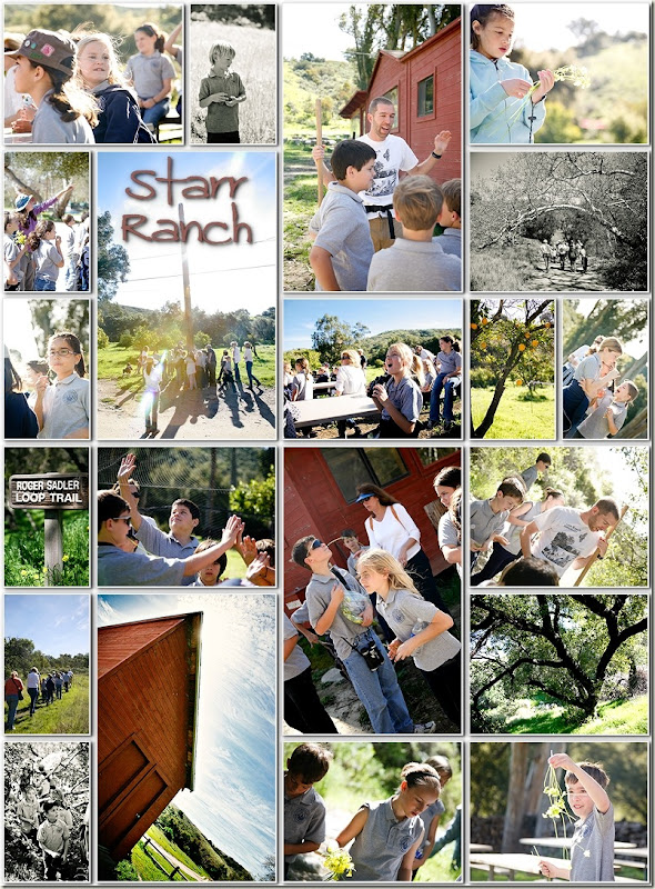 starr ranch collage