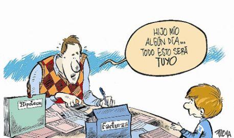 Herencia: facturas