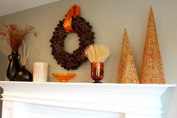 pinecone mantle
